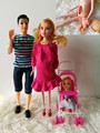 Free Transport Woman birthday present  DIY wardrobe mixture lady toy play home doll equipment doll furnishings for barbie doll
