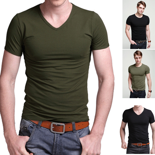 New Arrival Casual Short Sleeve Military Mens T Shirt