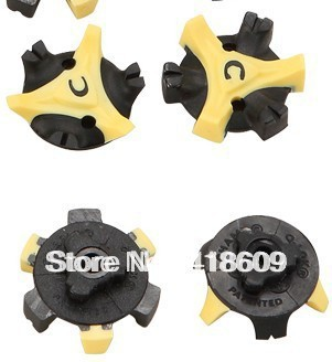 20 Pcs/lot Golf Shoe Spike Q-LOK THREAD Replacement Cleat Champ Fast Twist Screw Studs Stinger free shipping - Free shipping