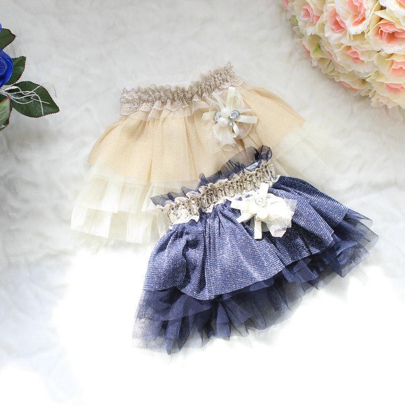 wholesale--4pcs/lot.2013 Spring hot sale!!Korean girls high-grade Pompon veil skirt, 3 color,free shipping.