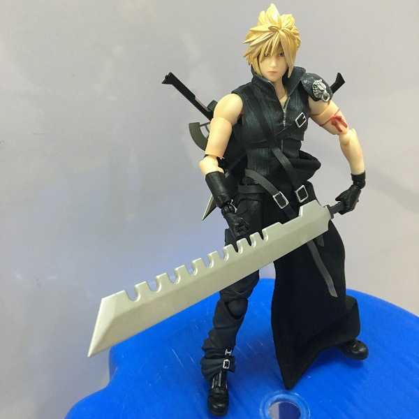 27cm Japanese anime figure Final Fantasy Play Arts Kai Action Figure Cloud Strife Collection Final Fantasy Playarts Kai(China (Mainland))