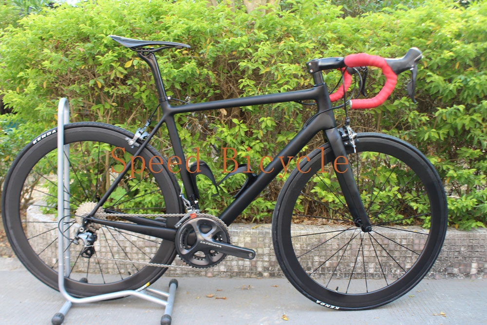 Chinese RCA brand new road bike frame Newest style road bike carbon complete road full bike bicycle(China (Mainland))