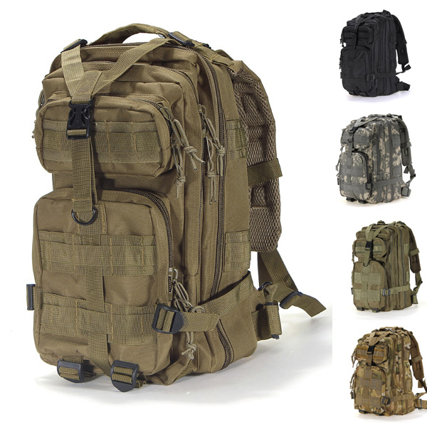 Hot Sale Men Outdoor Military Army Tactical Backpack Molle Camping Hiking Trekking Camouflage Backpack High Quality Travel Bags