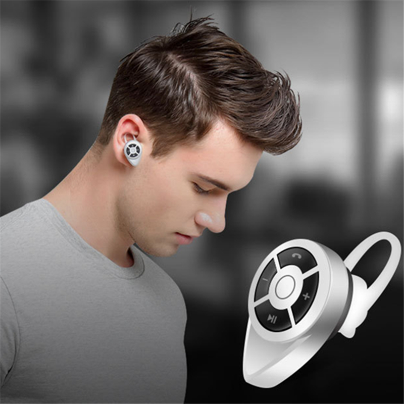 Mini Style Wireless Bluetooth Earphone V4.1 can take pictures Sport Headphone Anti-sweat design With Micro Phone For Phone PC(China (Mainland))