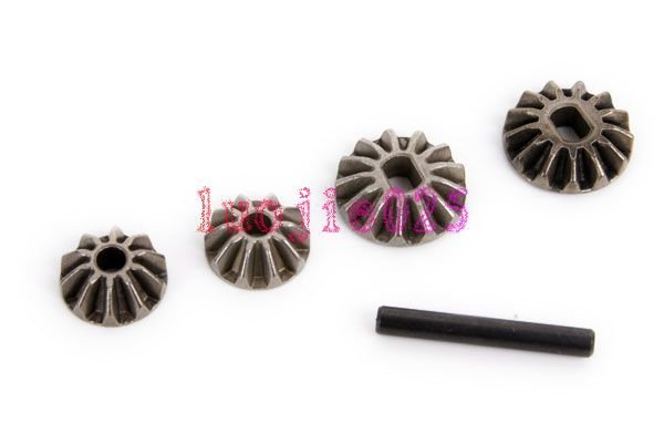 02066 Diff. Pinions+Bevel Gears+Pin HSP Parts For 1/10 R/C Model Car 02066