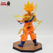 New Hot17cm Anime Dragon Ball Z Super Saiyan Son Goku PVC Action Figures Birthday Collectible Toy