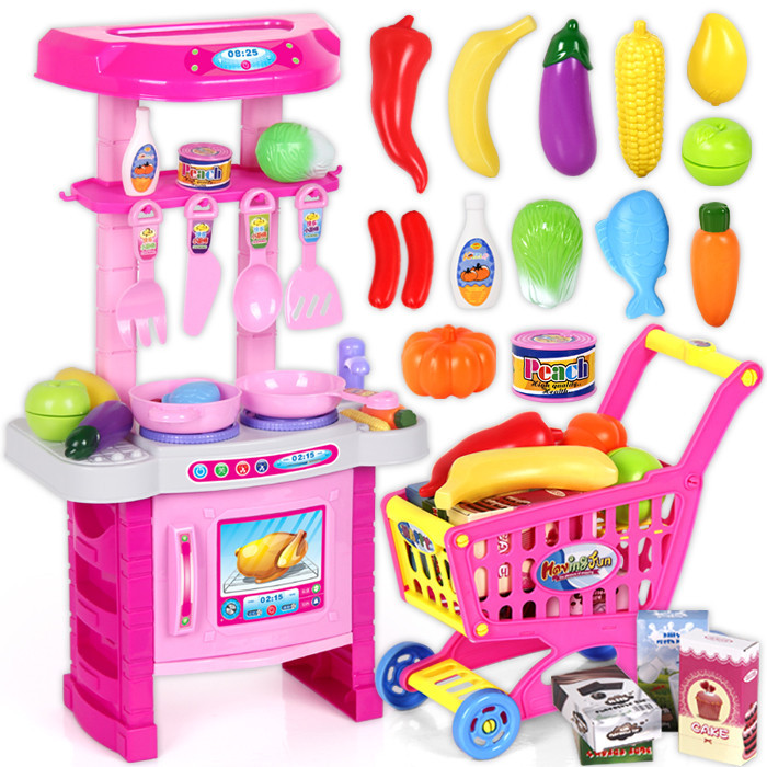 Child Kitchen Toys Set Classic Toys Cooking Tools Kids