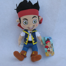 Jake and the neverland pirates jake plush toy doll with tag free shipping(China (Mainland))