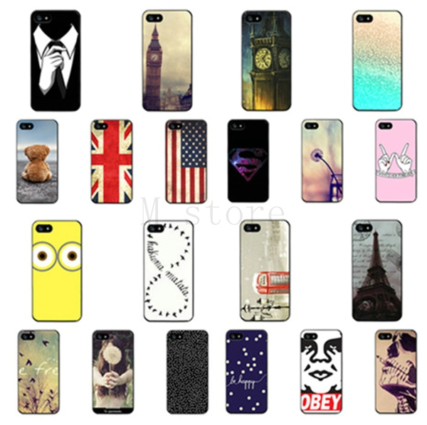 2015 new arrival new fashion cell phone back cover case for apple iphone 5 5S shell 1 piece high quality thin cases(China (Mainland))