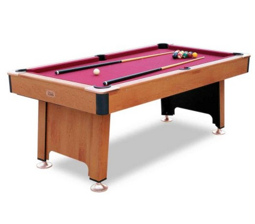 Solid wood home 7 feet billiards table(China (Mainland))