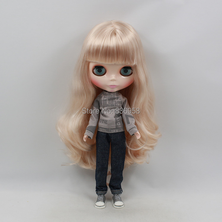 Nude Doll For Series No .230BL339(30m) with Bangs Long golden hair white skin Suitable For DIY Change BJD Toy For Girls<br><br>Aliexpress