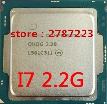 Buy I7 6400T I7 6700K I7-6400T QHQG L501 ES Q0 2.2HMZ 1151 CPU Quad-Core 8WAY 65W tested well 1 year warranty for $150.00 in AliExpress store