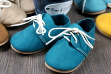 Free shipping First Walkers Genuine Leather Baby shoes indoor non-slip Toddler Baby moccasins lace-up bebe Shoes(China (Mainland))