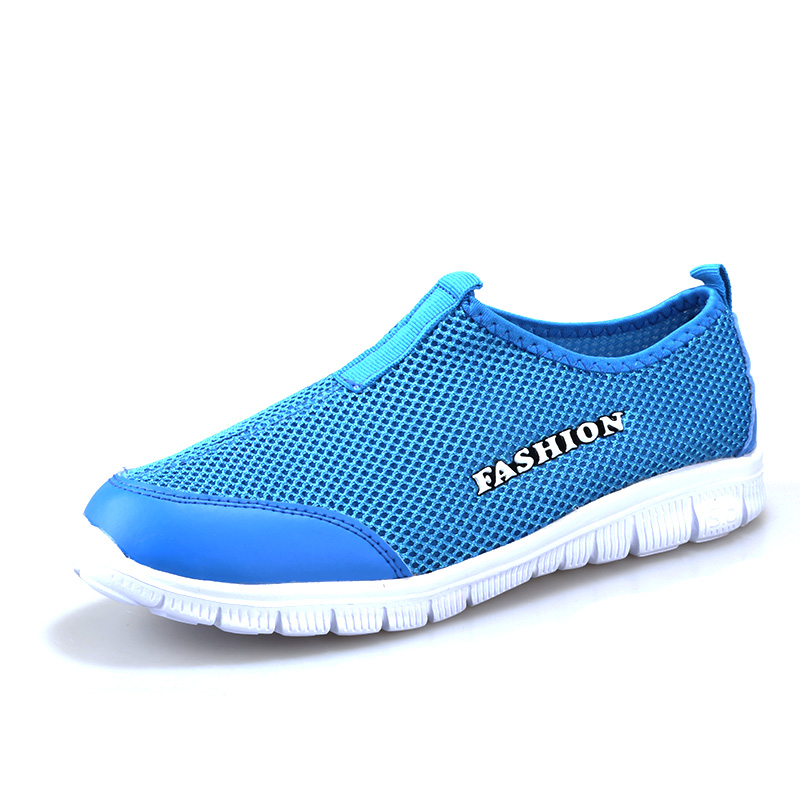 2016 new mens summer mesh shoes womens slip on cool