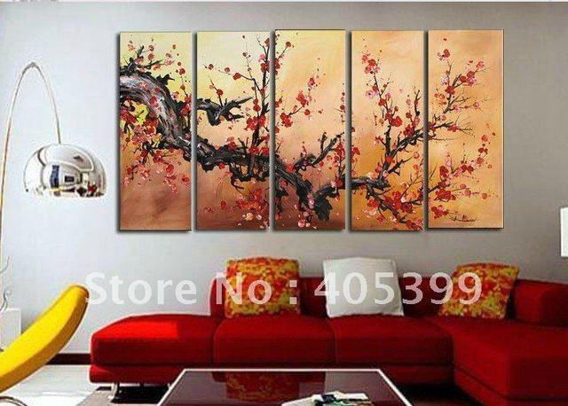 Framed!! Frame oil painting ! Huge  Museum Quality Framed/Stretched Flower Oil  Painting JYJLV198