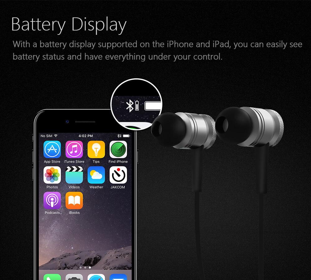 JAKCOM WE2 Smart Wearable Earphone Hot sale in Smart Accessories as orologio xioami uhren