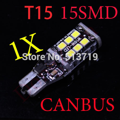 Источник света для авто DZ 1 X T15 W16W 921 CANBUS CREE 3535 T10 W5W 1x t15 w16w 921 canbus car led 4014 parking stop light projector len backup reverse light no error automotive lamp bulbs