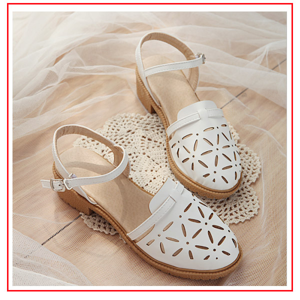 fashion preppy style flat heel sandals shoes beach girl flip flops(China (Mainland))