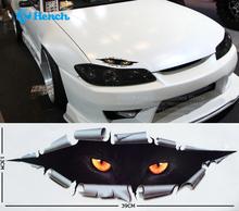Dérobée monstre Car styling autocollant de voiture drôle de chat étanche Full Body autocollant 39 * 13 cm voiture accessoires livraison gratuite
