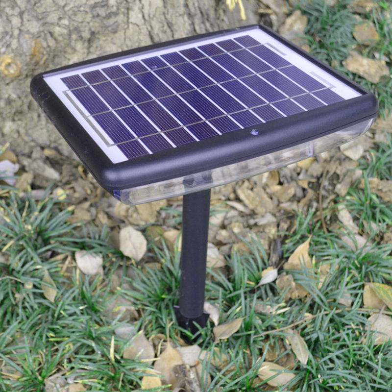 Bright 150LM Outdoor LED Solar Garden Light Waterproof Wall Lamps Lawn Landscape Spot Lights for Garden Decor Big Solar Panel(China (Mainland))