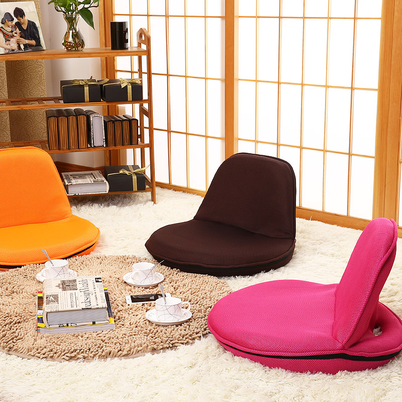 Фотография Modern Furniture Portable Chair Floor Foldable Recliner Lounge Upholstered Leisure Lightweigt Japanese Style Zaisu Legless Chair