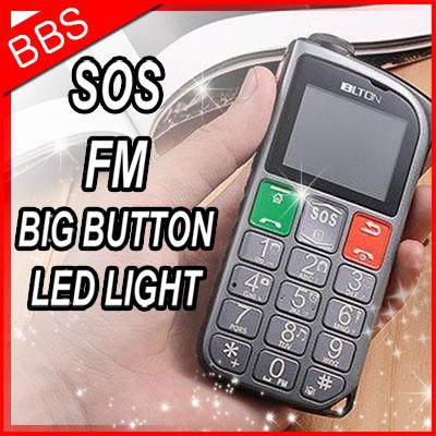 2014 Cheap original Senior elder old man mobile phone cell Big speaker FM Radio 2 Dual sim GSM Flashlight Russian Keyboard menu(China (Mainland))