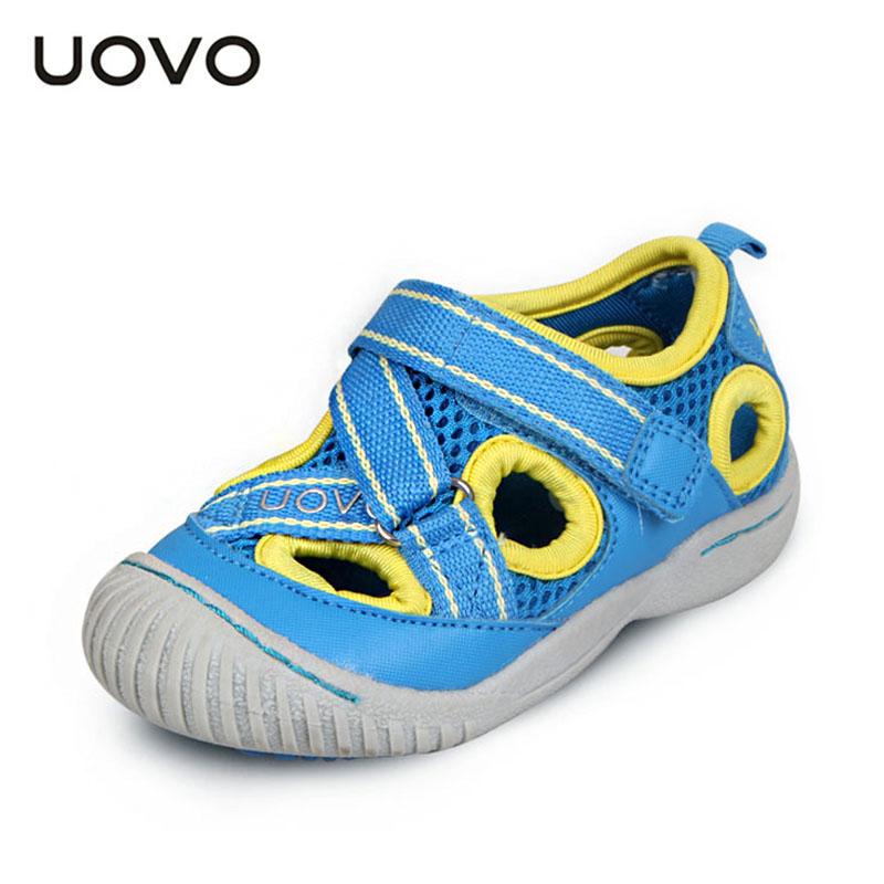 2016 UOVO Girls font b Shoes b font Sandals Boys Sandals Children font b Shoes b