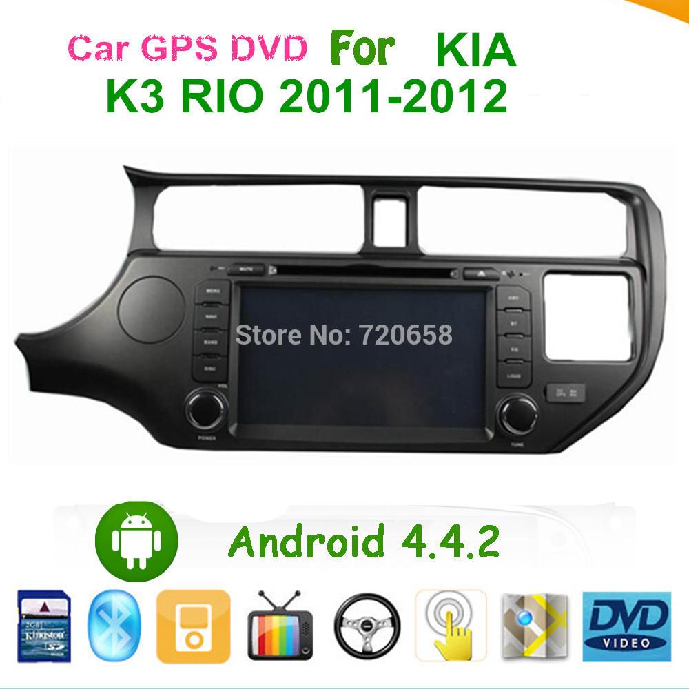 Dual-Core Cortex A9 1.6GHz Car Android 4.2 Car PC DVD GPS For Kia K3 Rio 2011-2012 WIFI RDS 3G DVB-T(MPEG4)(China (Mainland))