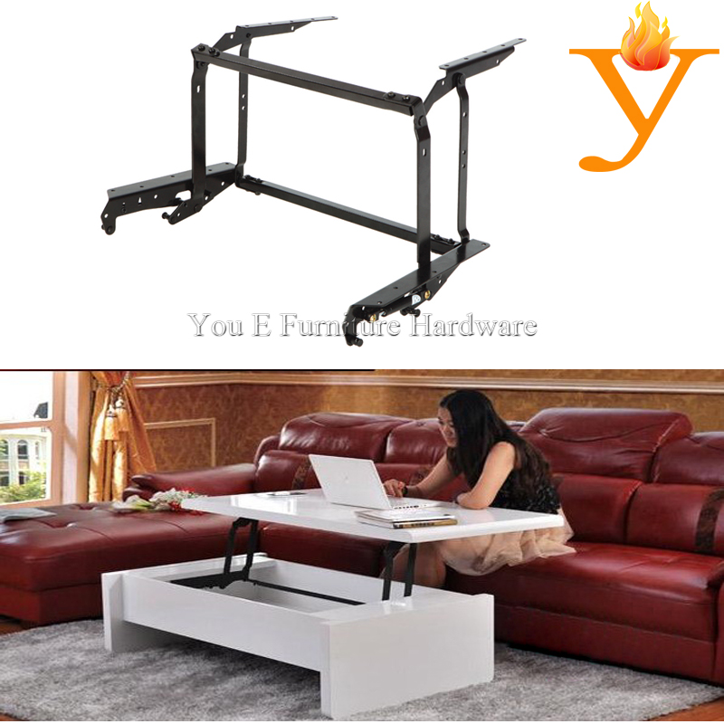 Adjustable Table Mechanism/Lift Up Coffee Table Mechanism With Gas Spring B04-1(China (Mainland))