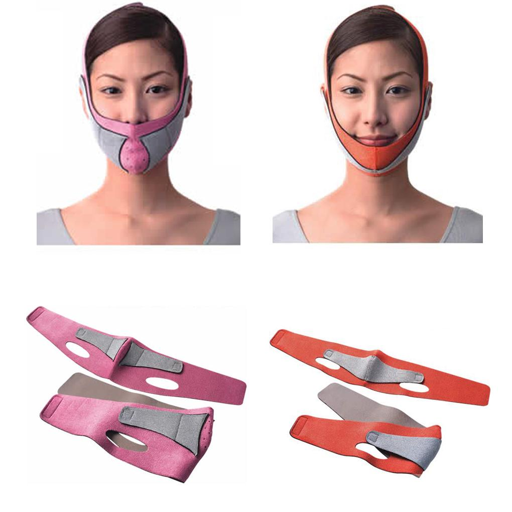 High Quality Slimming face mask Shaping Cheek Uplift slim chin face belt bandage health care weight loss products massage(China (Mainland))