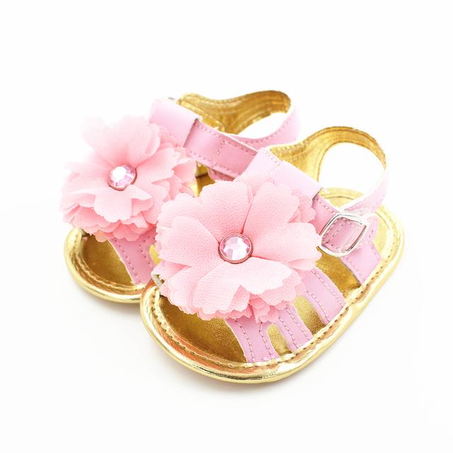 Детские Сандалии Обувь Для Девочек для Новорожденных Малышей Дешевые Лето 2016 Новый