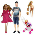 Free Transport,Woman Birthday Reward 3pcs unique doll heads doll equipment  For Barbie Doll