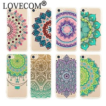Buy Datura Flower Pattern Phone Cases iPhone 5 5S SE 6 6S 7 Plus Soft Silicon Vintage Floral Paisley Mandala Back Cover Coque for $1.51 in AliExpress store