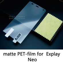 Glossy Lucent Frosted Matte Anti glare Tempered Glass Protective Film On Screen Protector For Explay Neo
