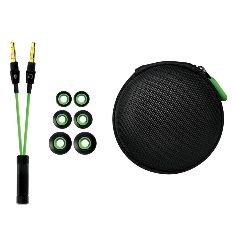 OEM Razer Hammerhead Pro Noise Isolation Stereo Bass In Ear Earphone With Microphone Gaming Headset