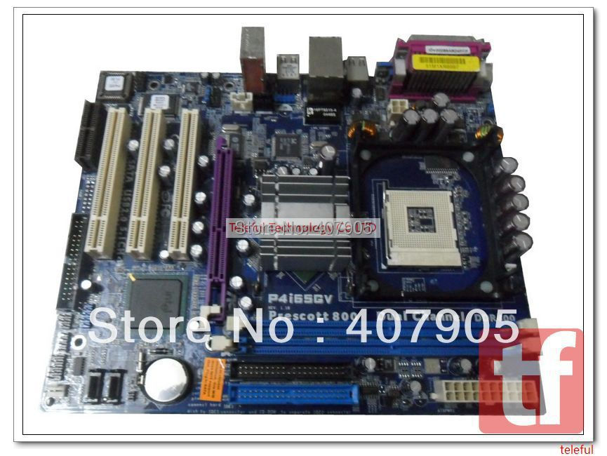 Motherboard for Asus P4I65GV 865G DDR400 333 integrated PC(China (Mainland))