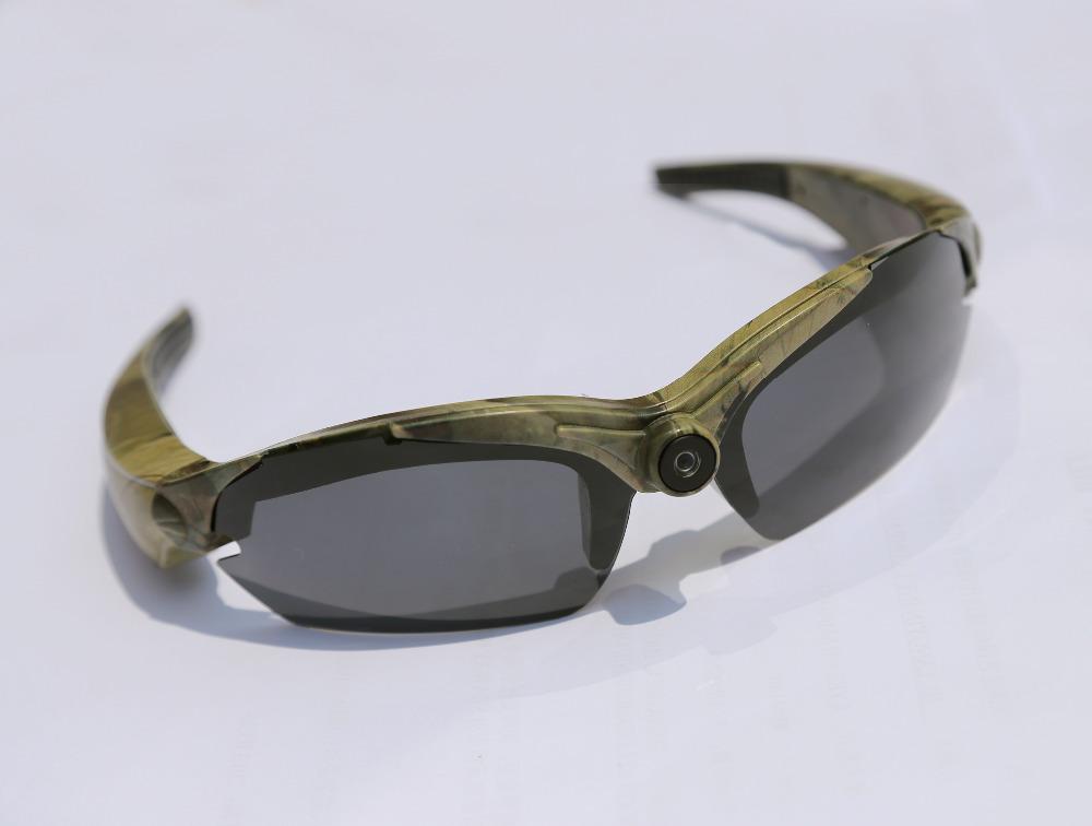 2014 New Full HD 1080P 15MP Sunglasses Camera DVR Recorder Camcorder Sport Mini DV Camouflage - outdoor- store