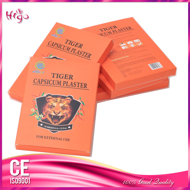 20 Pcs/2 Boxes Chinese Medical Porous Tiger Capsicum Pain Relief Plaster Health Care for Back Waist Lumbar Disc Pain Relieving(China (Mainland))