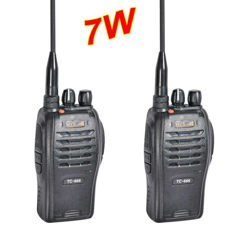 Professional Two way radio(7W output)+VHF/UHF+Free shipping(China (Mainland))