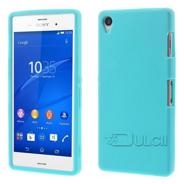 Phone Silicone cover Sony Xperia Z3 Naked Back Case D6603 D6653 - Fly China store