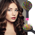 New 2015 Rainbow Comb Volume Brush Magic Hairbrush for Hair Tangle Hair Brush Women Comb Candy