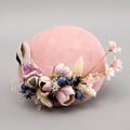 Lady European Gauze Small hat bird animal Flower Bridal Little Hat Hair Accessories Banquet Party holiday