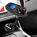 Bluetooth Car Kit Handsfree FM Transmitter MP3 music Player Car charger Support micro TF Card 1