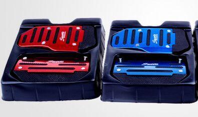 2015 2pcs/set car Automatic AT pedals For /VW/mazda/ mitsubishi/subcaru/Peugeot /opel /skoda(China (Mainland))