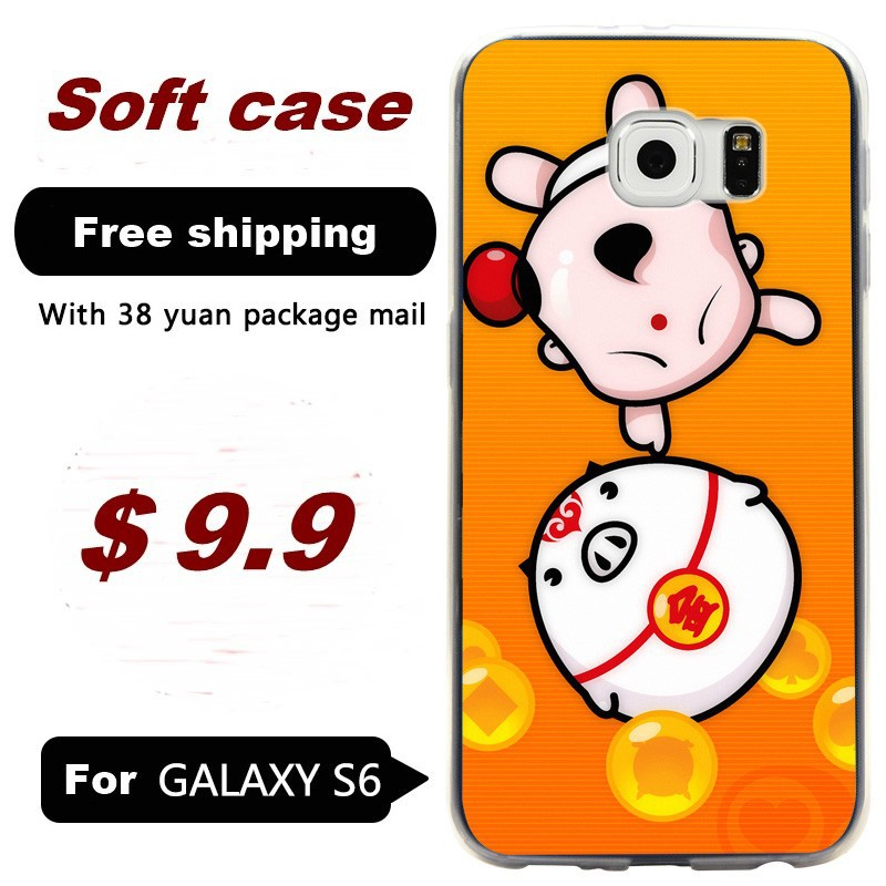 For Samsung Galaxy S6 PC Hard back shell protective cases painted G9200/G920F/ mobile phone casing China Doll 3(China (Mainland))