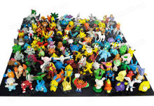 Lovely New Cute 24 pcs Pokemon Monster Mini figure lot 2-3cm in Random(China (Mainland))