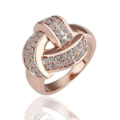 r081 wholesale 18k gold plated rings jewellery new times