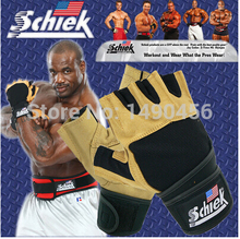 Brand Schiek Sports Gloves Fitness Weight Lifting Gloves Exercise Training Guantes Gym Gloves Half Finger High Quality