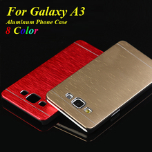 Hight Quality Luxury Metal Aluminum+Plastic Case For Samsung Galaxy A3 A3000 Phone Case Cover