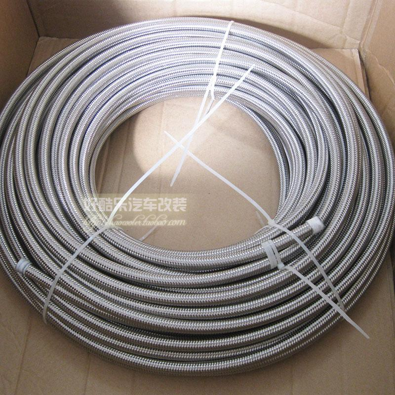 AN6 PTFE STAINLESS STELL BRAIDED HOSE(China (Mainland))